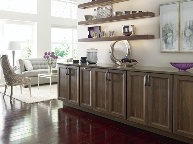 Custom Built-in by Omega Cabinetry
